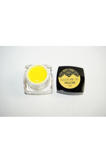 Yellow Plasteline Gel 3D